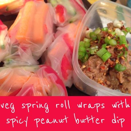 veg spring roll wraps