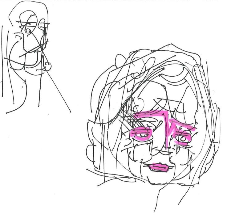 Gareth Williams doodle