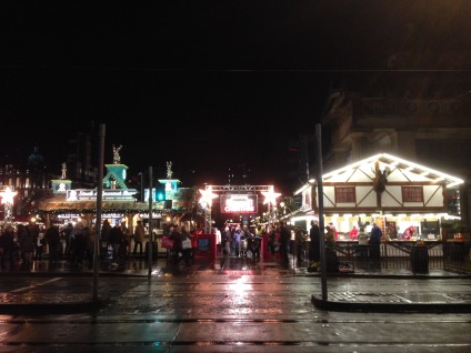 Edinburgh Christmas Markets on Princes Street